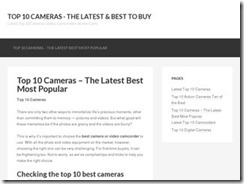 Buying a Camera – What Differentiates The Best From the Rest