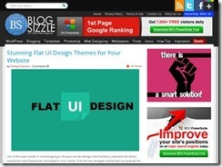 The advantages of flat UI design