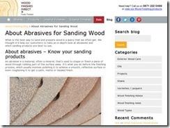 Choosing the Right Grit of Sandpaper